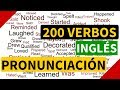 200 verbos regulares e irregulares en inglés con pronunciación y significado en español