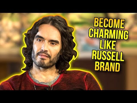 Russell Brand's Charm | 5 Ways To Become More Charming Like Russel Brand