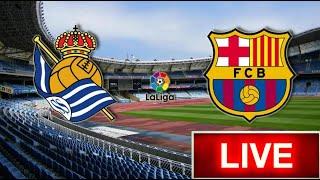 Реал Сосьедад — Барселона / Real Sociedad - Barcelona / смотреть онлайн (fifa 2019)