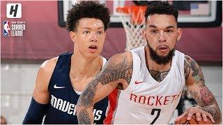 Dallas Mavericks vs Houston Rockets - Full Game Highlights | July 6, 2019 NBA Summer League
