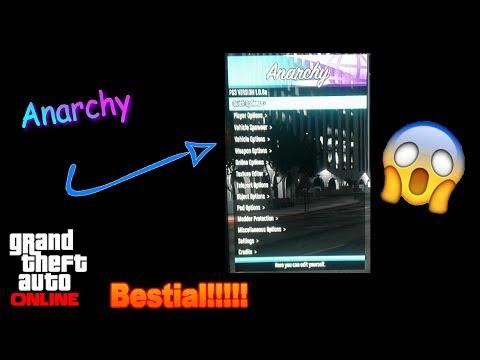 Mod Menú: `Anarchy` , opciones únicas IMPRESIONANTES!!!!!!!!!!!!!!!!!!! (+  descarga)