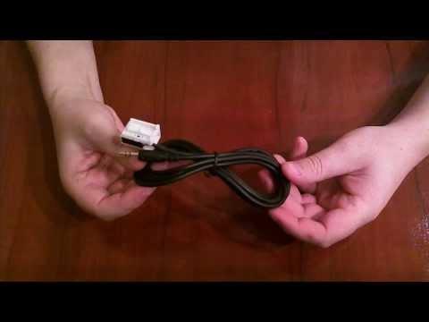 Обзор AUX кабеля из Китая  для магнитол RD4 Citroen и Peugeot