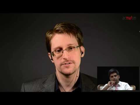 Edward Snowden über seinen Alltag im Exil, Antiterror-Gesetze & die Verantwortung des Einzelnen