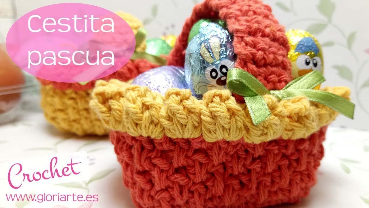Perfecto Cestas De Pascua Ganchillo Patrones Gratis Patrón - Ideas ...