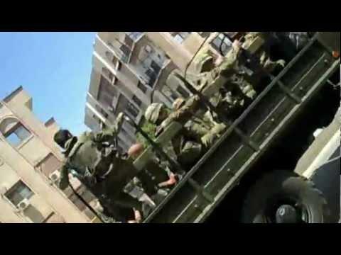 دمشق جوبر انتشار الجيش الأسدي في الحي 14 05 2012