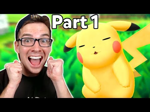 Pokemon Lets Go Pikachu — *NEW* Game Start! — Lets Play Gameplay Walkthrough — Part 1