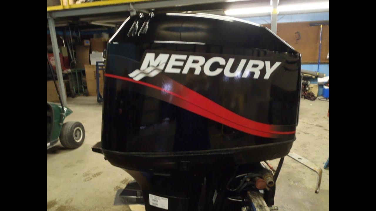 6m3d20 used 2002 mercury tracker 50elpto 50hp 2 stroke remote outboard motor 20 shaft [ 1280 x 720 Pixel ]