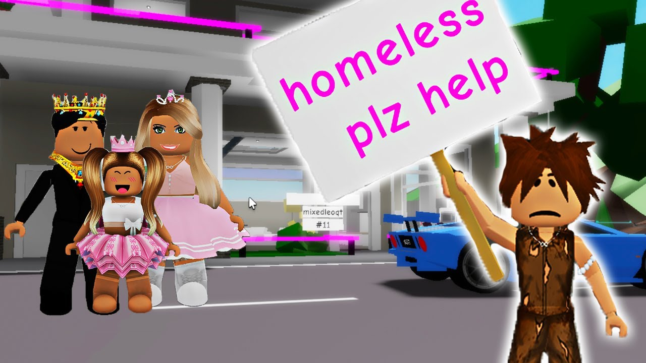 Download ROYAL FAMILY ADOPT A HOMELESS BOY!! **BROOKHAVEN ROLEPLAY** | JKREW GAMING