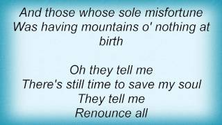 Tracy Chapman - Mountains O'things Lyrics