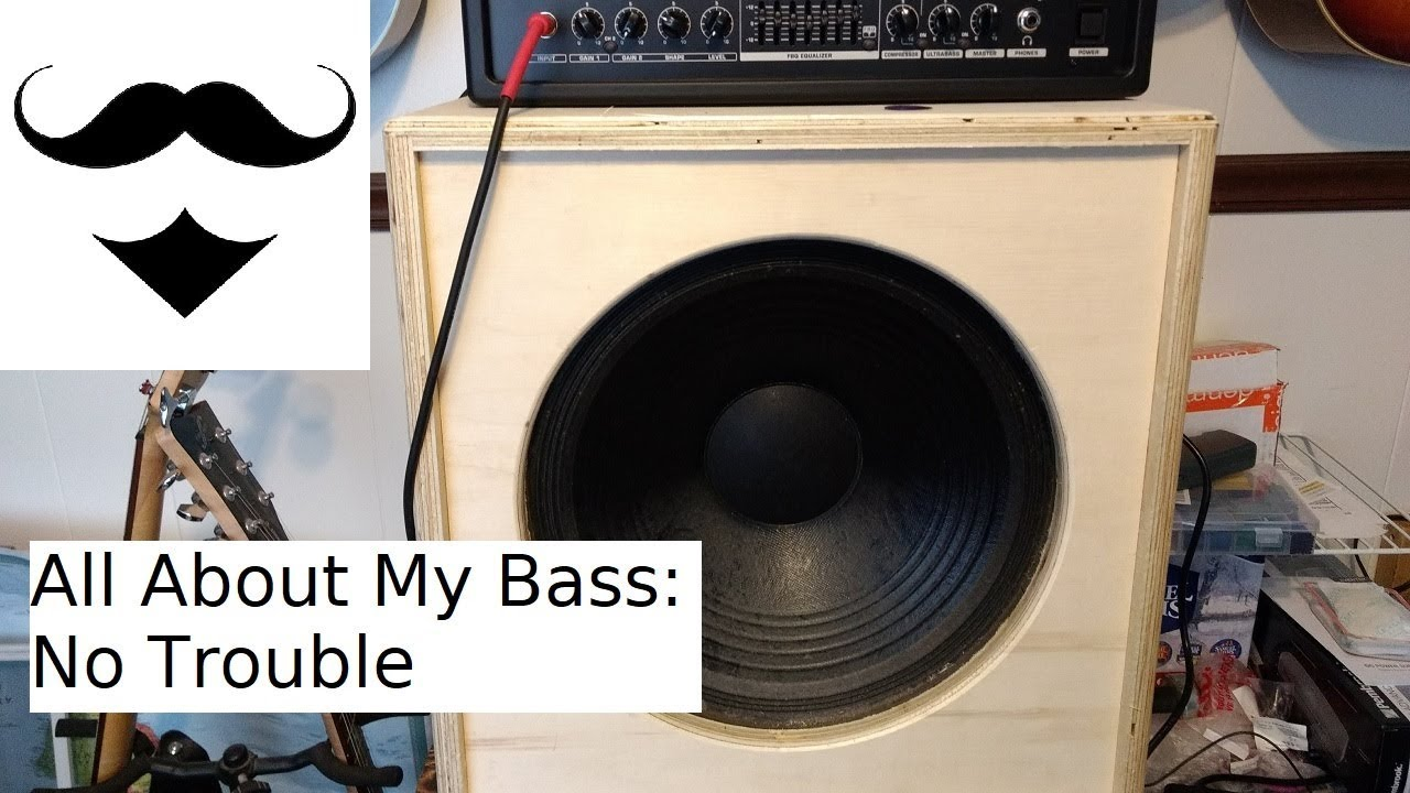 diy 1x15 bass speaker cabinet youtube rh youtube com