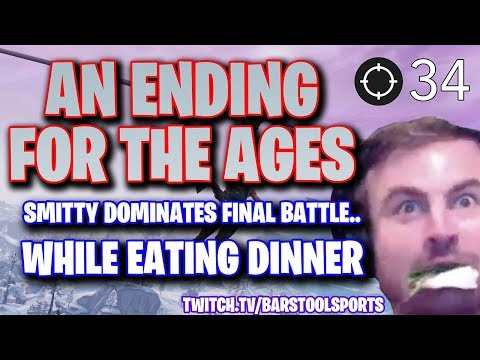 Smitty Dominates (For Once) Which Sets Up An Incredible Ending...All While Eating Dinner (FULL GAME)