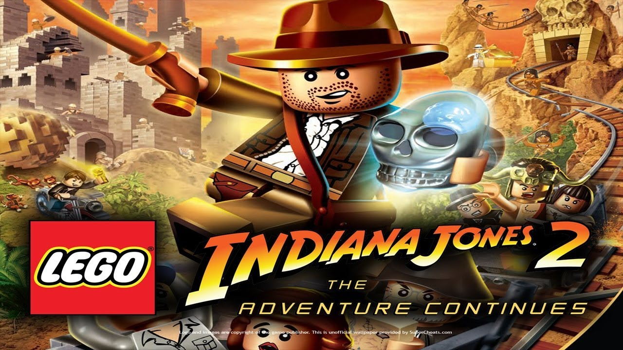 Lego Indiana Jones 2 Walkthrough Complete Game Youtube