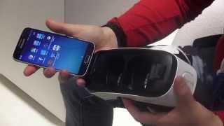 Samsung VR per Galaxy S6 preview MWC 2015 da HDblog.it