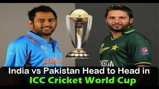 World cup 2015: India to play Pakistan in Opening match