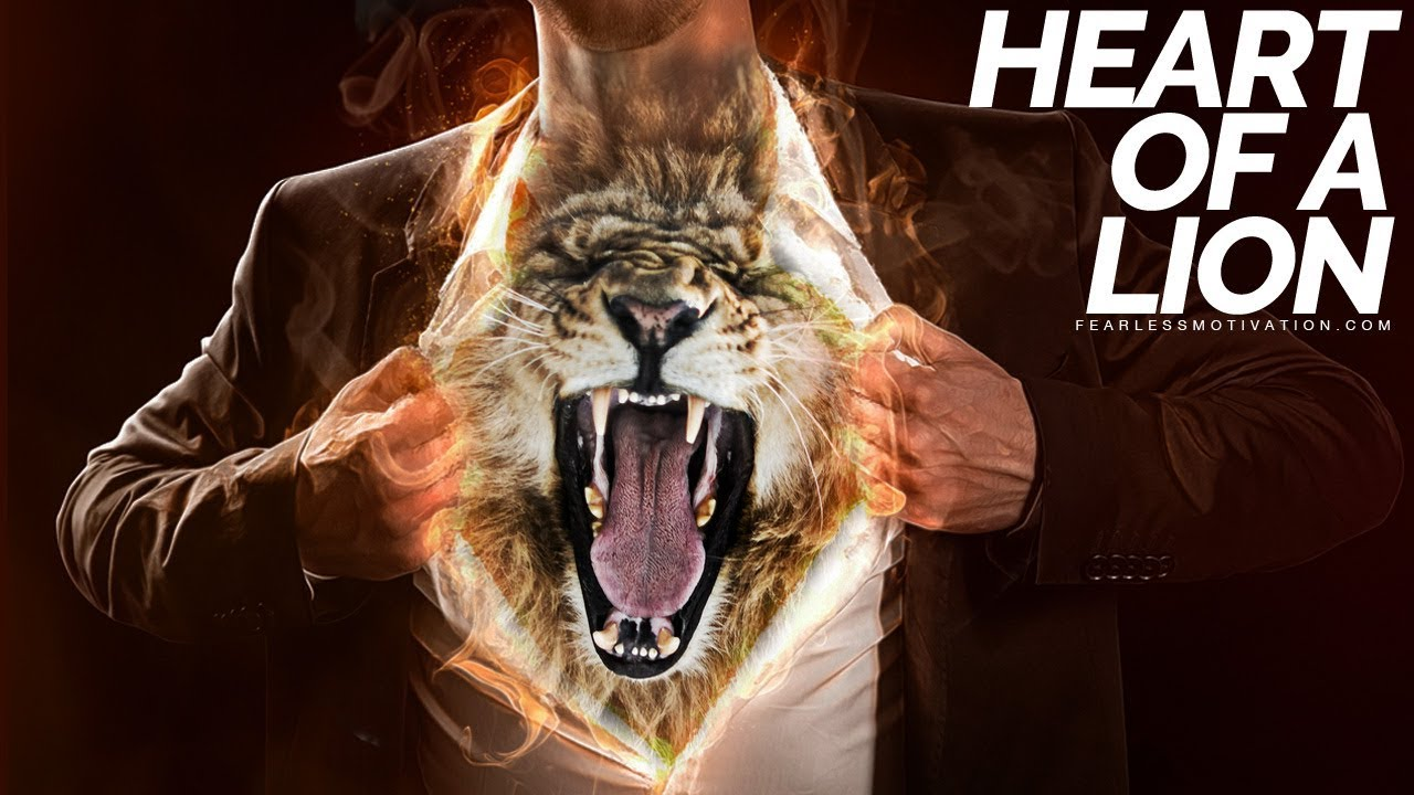 HEART OF A LION - Official Music Video - Gym Motivation!
