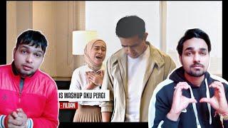 Egois Mashup Aku Pergi - Cover Lesti Fildan | Reaksi