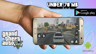 How to download GTA 5 clone on Android free under 70 MB ||Technical Swag||