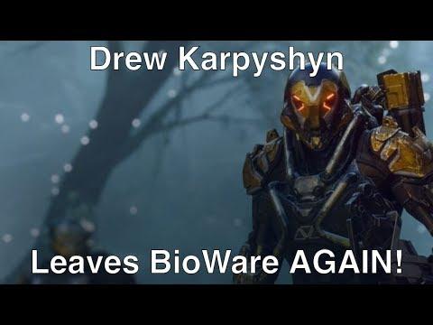 Drew Karpyshyn is Leaving BioWare AGAIN!