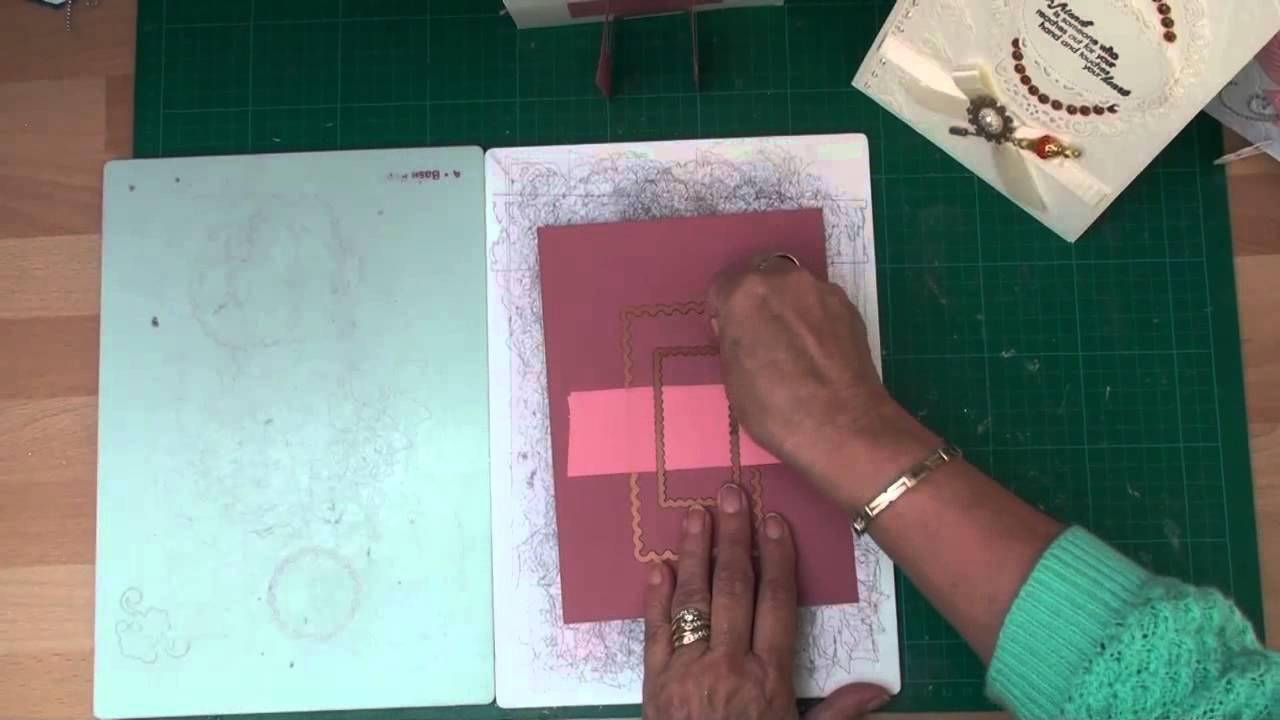 Card Making Magic Ideas Part - 23: Creating Card Stands (card-making-magic.com) - YouTube