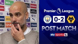 Pep on Man City's 'bad day' after Wolves defeat | Pep Guardiola Post Match | Man City 0-2 Wolves
