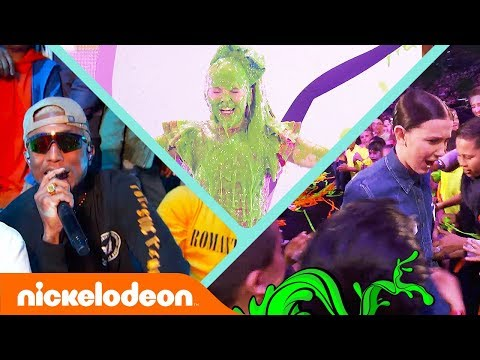 BEST, MOST EPIC, SLIMIEST Moments?w/ N.E.R.D, Millie Bobby Brown, & More! | KCA 2018 | Nick