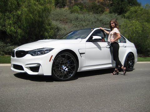 """2018 BMW M3 Competition Package/ 20"""" M Wheels / Exhaust Sound / BMW Review"""