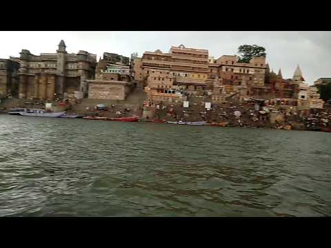 Ganga maiya varanasi masti Ghat cool weather cool people, peace