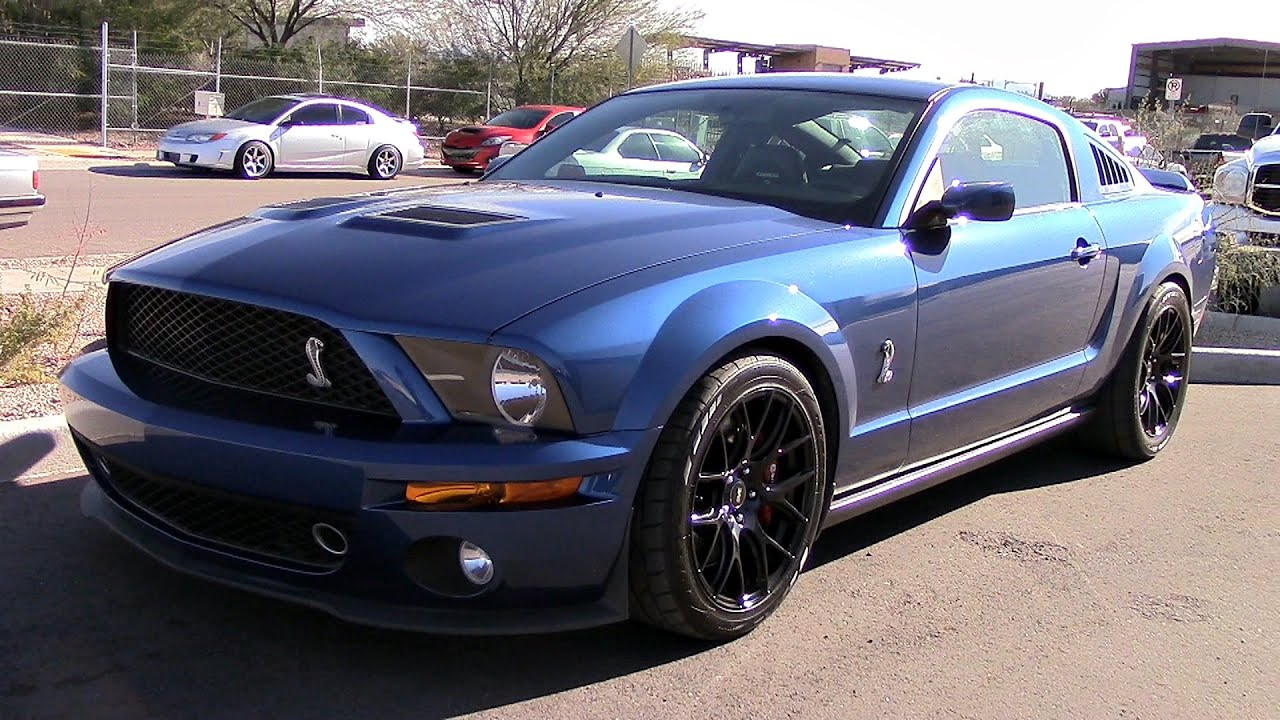 Shelby Gt500 2016 >> Modified 2007 Shelby GT500 On the Dyno - YouTube