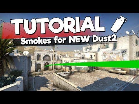 A Legjobb Gránátok Az új Dust2-re