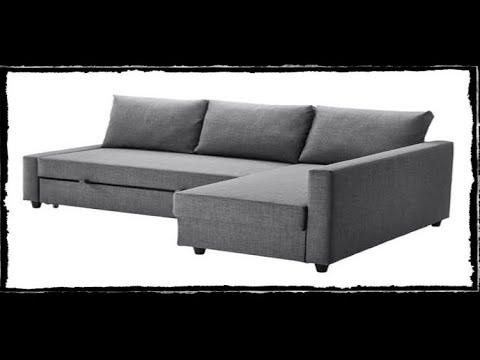 Ikea FRIHETEN Sleeper Sectional, 3 seat w/ Storage 3/2/19