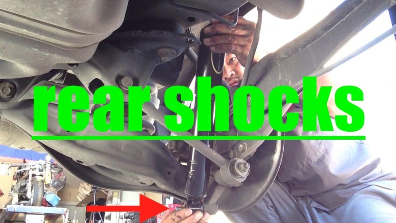 EASY Rear Shocks Replacement Honda Odyssey√ Fix It Angel  YouTube