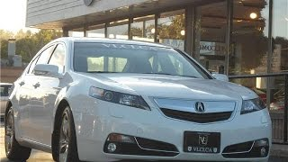 2012 Acura TL in review - Village Luxury Cars Toronto