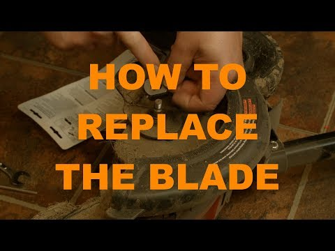 HowTo Replace an Edger Blade