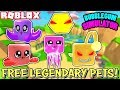 🔴 ROBLOX LIVE 🔴 FREE LEGENDARY PETS IN BUBBLEGUM SIMULATOR - VIP AND PUBLIC SERVERS
