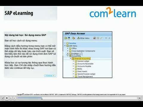 Hướng dẫn sử dụng SAP phần mềm hệ thống quản lý doanh nghiệp