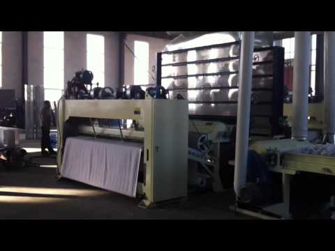 needle punched production line(1)-Linyi Yuelong Nonwoven Equipment Co.Ltd