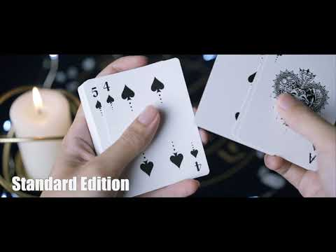 Silence Gilded Playing Cards
