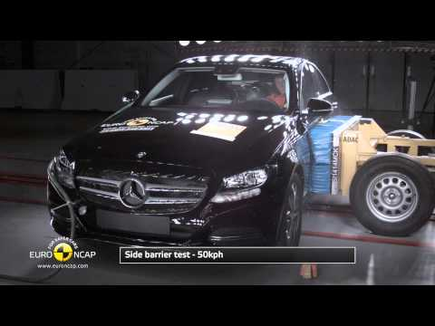 Mercedes Benz C Class 2014 Crash Test  Euro NCAP ★★★★★