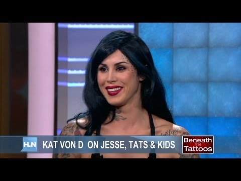 Kat Von D on Jesse, kids and tats