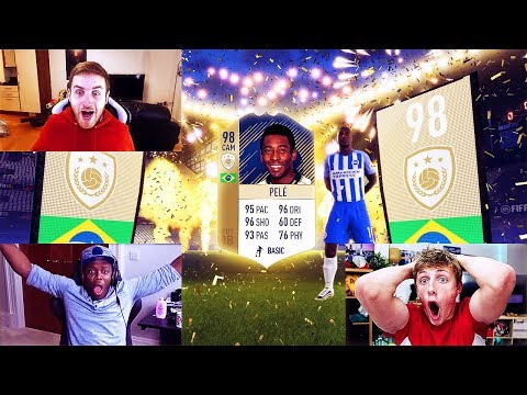 TOP 100 BEST FIFA 18 PACK OPENING REACTIONS EVER!!