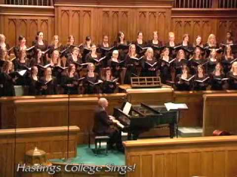 Memory from Cats Hastings College HC Singers