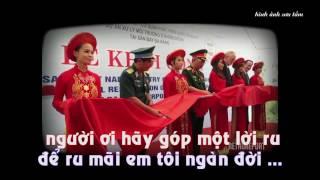 KARAOKE - Beat | Nỗi Đau Mặt Trời | Bài hát Về Chất Độc Màu Da Cam