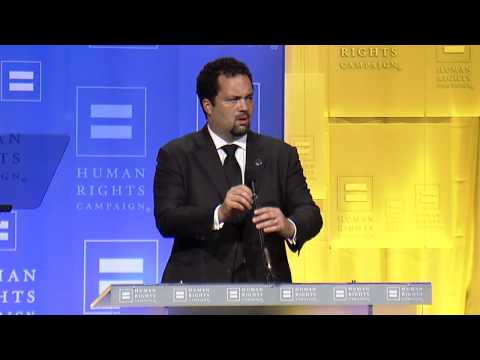 Ben Jealous at the 2012 HRC National Dinner - YouTube