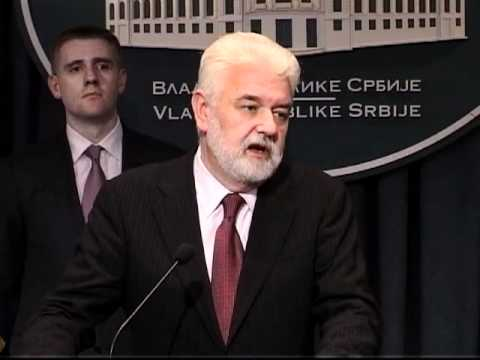 Premijer Crne Gore Igor Lukšić u prvoj zvaničnoj poseti Beogradu