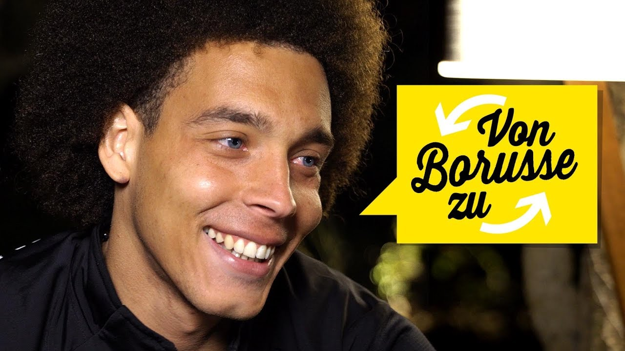 What's Heading The Ball Like With Your Haircut? | Your 09 Questions For Axel  Witsel - YouTube