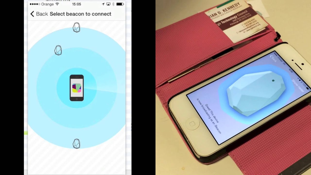 Unboxing and testing bluetooth iBeacon devices