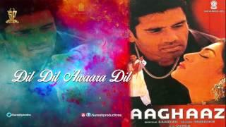 Dil Dil Awaara Dil | Jukebox | Aaghaaz | Sunil Shetti,Susmitha Sen