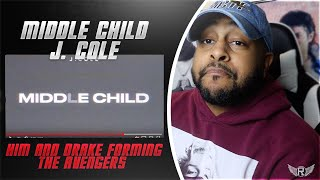 MIDDLE CHILD - J COLE | HE SAID THE DISSES ARE COMING !! | REACTION