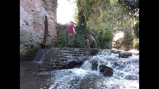 1000 year old mill site magnet fished