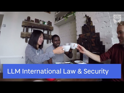 LLM International Law & Security at the University of Dundee